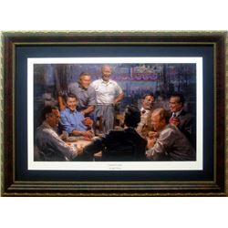 Andy Thomas Grand Ol' Gang Framed Print