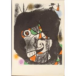 Joan Miro Revolution II Abstract Art Print