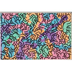 Keith Haring Art Poster Print Untitled George Mulder NY
