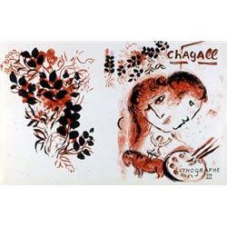 Marc Chagall : Litho III Art Print