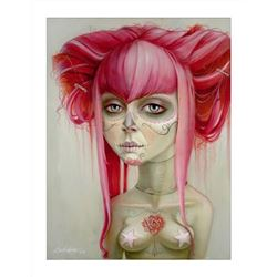 Leslie Ditto Day of the Dead Signed and Numbered Giclee