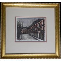 La place des Vosges Bernard Buffet Framed Lithograph