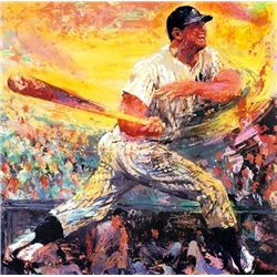 LeRoy Neiman MICKEY MANTLE Signed LE Fine Art Print