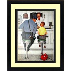 Norman Rockwell Runaway Framed Print