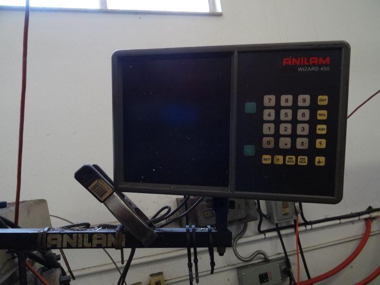 Turn-Pro 3 HP 3 PH Mill w/Adjustable Table & R/O