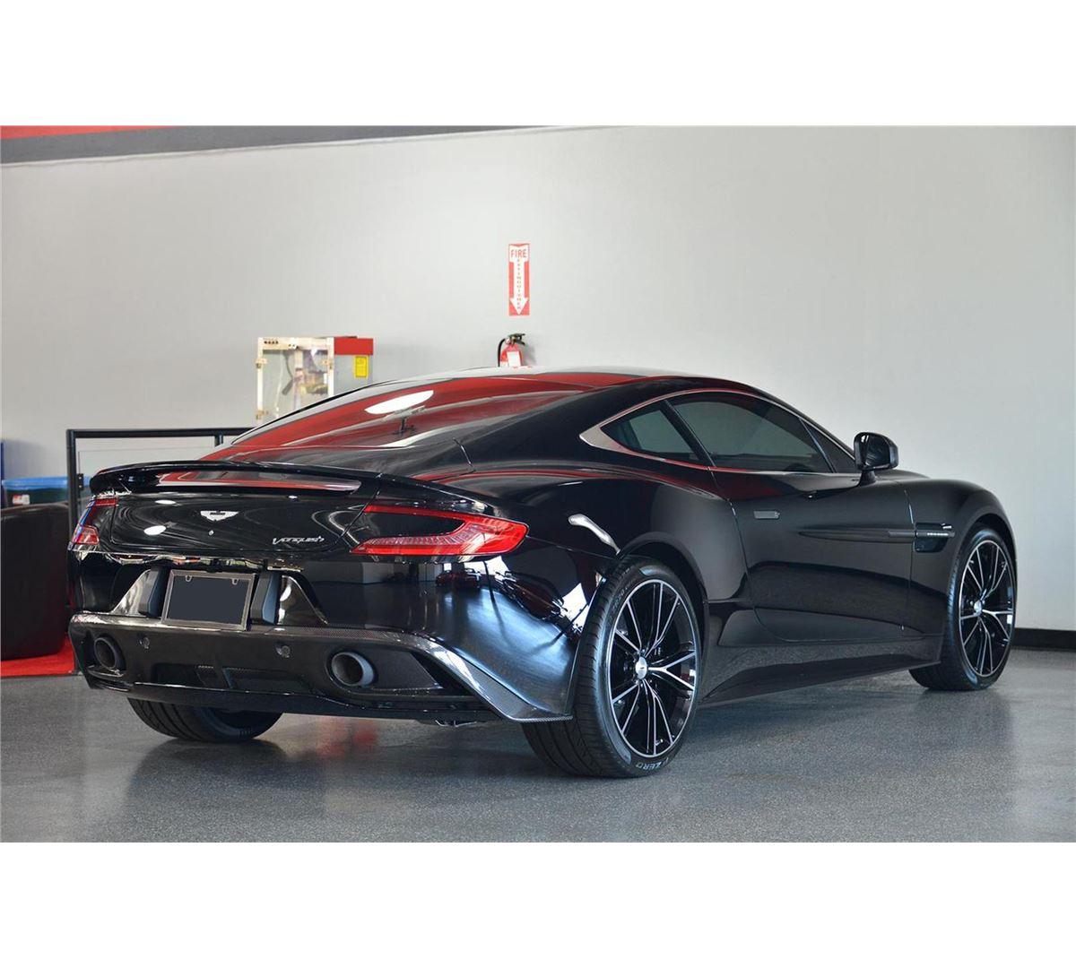 2014 Black Aston Martin Vanquish Coupe