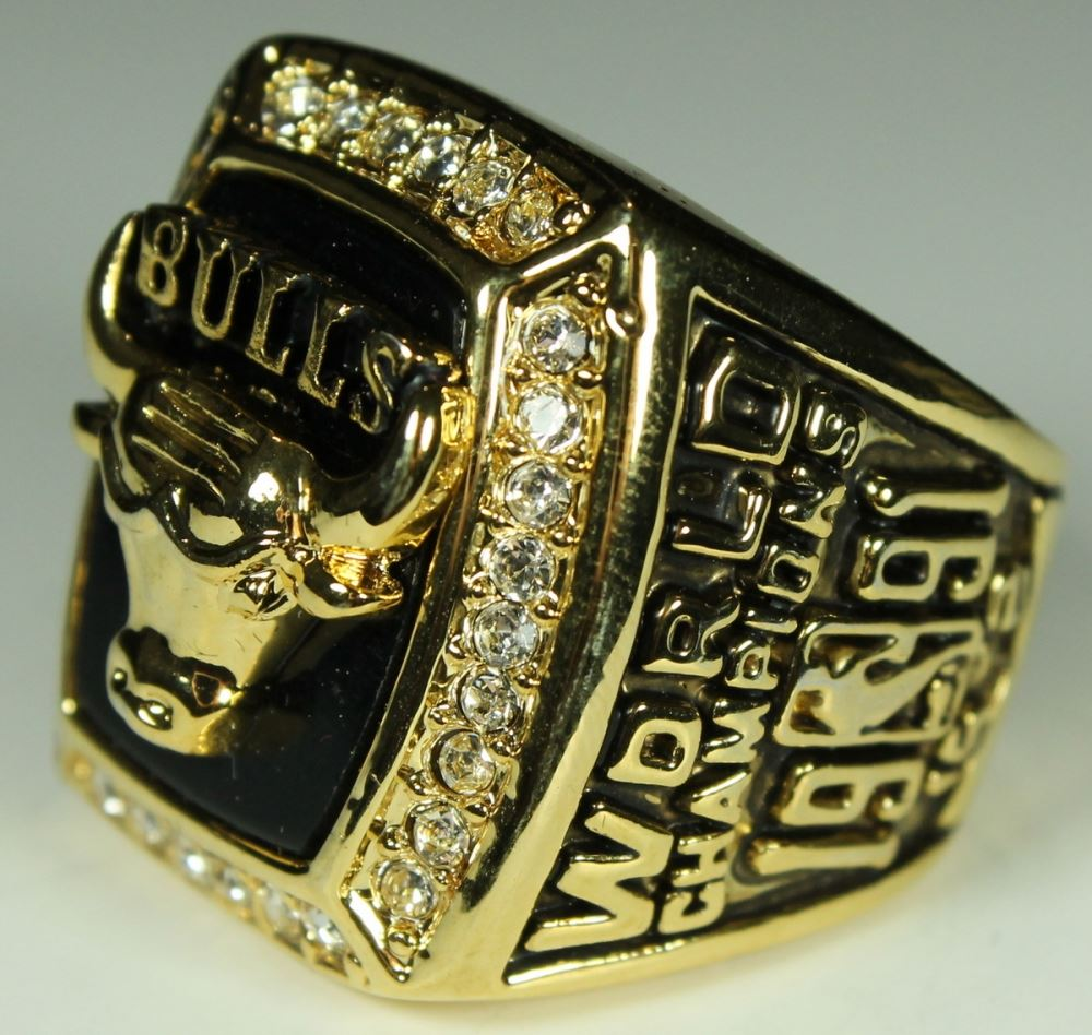 285b7773c146c7 ... Image 4   Michael Jordan Chicago Bulls High Quality Replica 1991 NBA  World Champions Ring ...