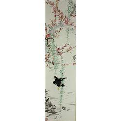 Chinese WC Painting Scroll Jiang Hanting 1903-1963