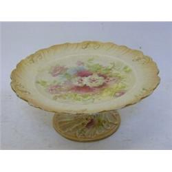 A Fielding Co Royal Devon Cake Stand Impressed Bath Trumpet Foot Height 10cm 30 40