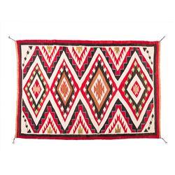 "Navajo Weaving. 4'7"" x 3'2"""