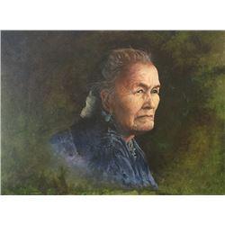 Edison Cummings, oil on canvas
