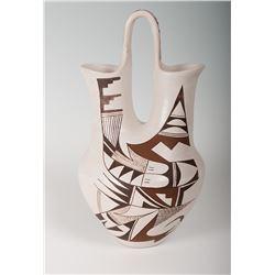 "Hopi Pueblo Jar by Joy Navasie, 12 ½"" x 6 ½"
