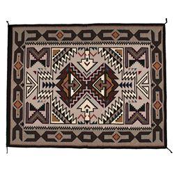 "Navajo Weaving, 4'4"" x 3'5"""