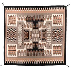 "Navajo Weaving, 11' x 10'1"""