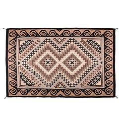 "Navajo Weaving, 9'4"" x 6'3"""