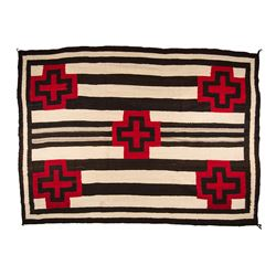 "Navajo Weaving, 7'3"" x 5'4"""