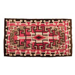 "Navajo Weaving, 7'7"" x 4'4"""