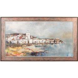 Pawel Kontny, oil on canvas