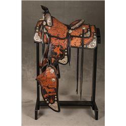 Bill Dean Saddlery (Burns, OR) Silver Mounted Saddle