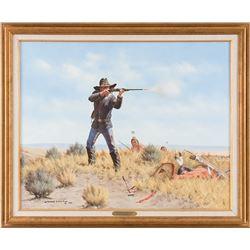 Michael Schreck, oil on canvas
