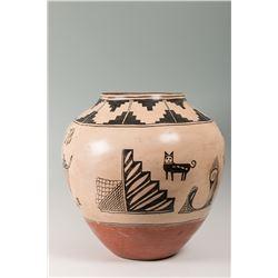 Cochiti Pueblo Storage Jar Attributed to Estephania Herrera or Tonita Pena