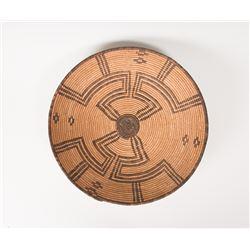 "Western Apache Basketry Bowl, 17"" x 4 ½"""