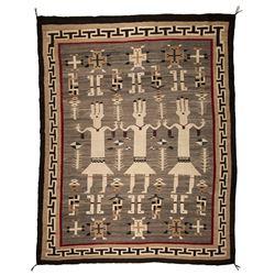"Navajo Weaving, 6' x 5'2"""