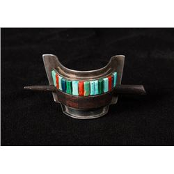 Charles Loloma Sterling Silver Hair Barrette