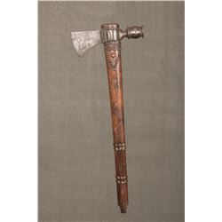 """Early Eastern Woodlands Pipe Tomahawk, 17 ¾"""" haft"""