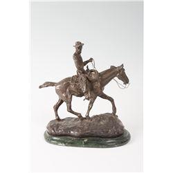C.M. Russell, bronze