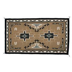 "Navajo Weaving, 7'4"" x 4'½"""