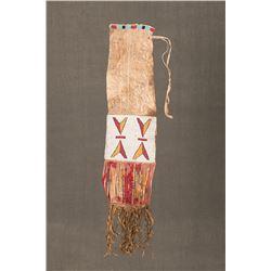 "Sioux Beaded Pipebag, 34"" long"