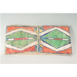 """Crow Painted Parfleche Envelope, 24 ½"""" x 12"""""""