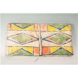 """Crow Painted Parfleche Envelope, 27"""" x 13 ½"""""""