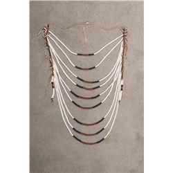 "Plateau Beaded Loop Necklace, 24"" long"