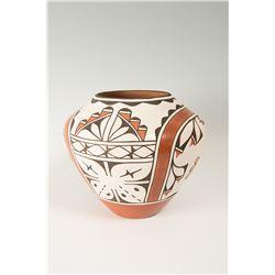 Zia Pueblo Jar by Ruby Panana