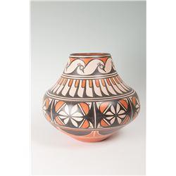 "Santo Domingo Jar by Robert Tenorio, 13"" x 14 ½"""