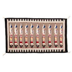 "Navajo Weaving, 4'2"" x 2'5"""