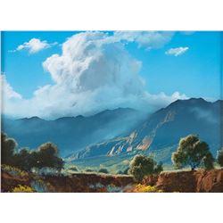 Dale TerBush, oil on canvas