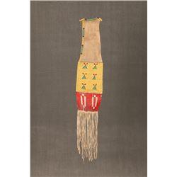 "Sioux Beaded Pipebag, 41"" long"