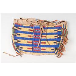 "Cheyenne Beaded Possible Bag, 9"" x 14"""