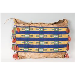 """Sioux Beaded Possible Bag, 21"""" x 13"""""""