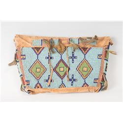 """Northern Plains Beaded Possible Bag, 16"""" x 9 ½"""""""