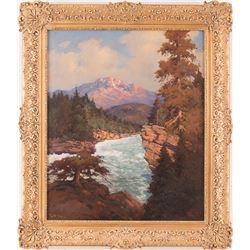 Robert W. Wood, oil on canvas