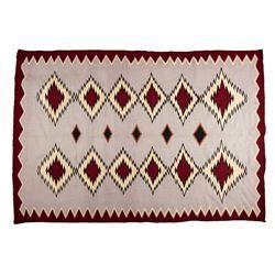 "Navajo Weaving, 7'1"" x 4'8"""