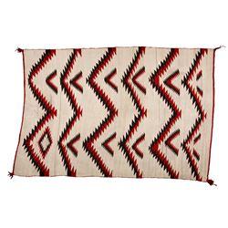 "Navajo Weaving, 6'9"" x 4'6"""