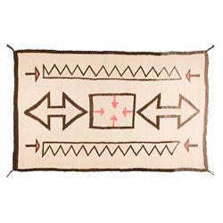 "Navajo Weaving, 4'10"" x 3'2"""
