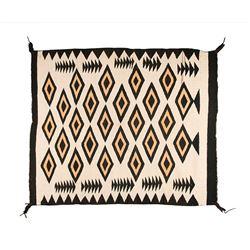 "Navajo Weaving, 4'3"" x 3'7"""