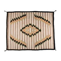 "Navajo Weaving, 4'6"" x 3'8"""