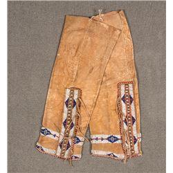 """Cheyenne Beaded Leggings, 18"""" long"""